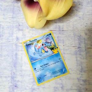 25th Anniversary McDonald's Totodile Pokemon Card